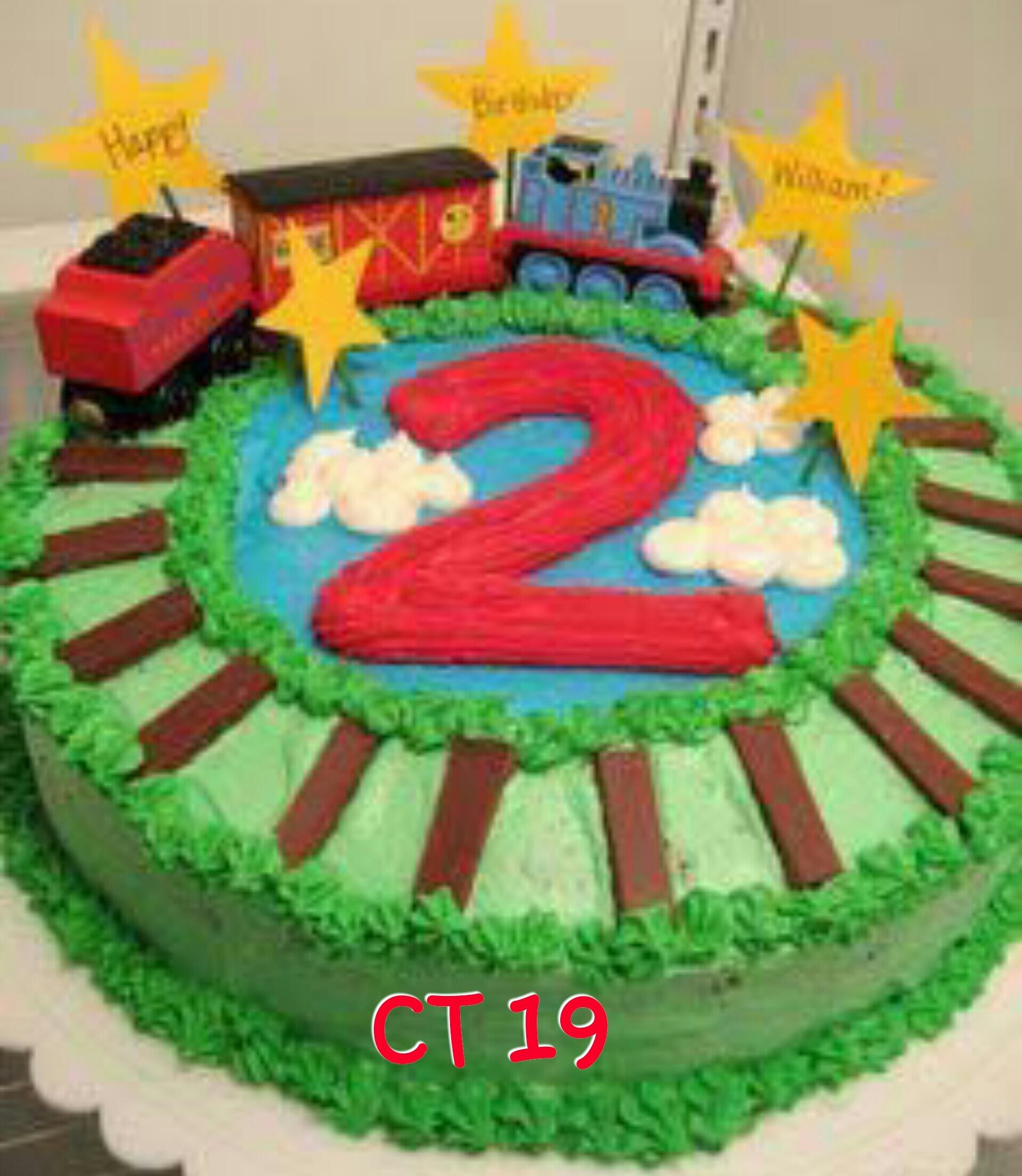 Train Cake CT 19
